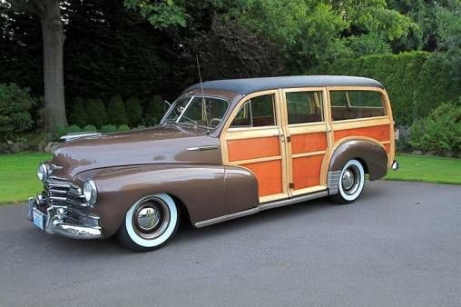 1947 Chevy Woody With Images Woody Wagon