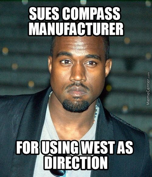 Trademarketing At It Amp 039 S Finest O 3107645 Jpg 500 579 Kanye West Funny Kanye West Memes