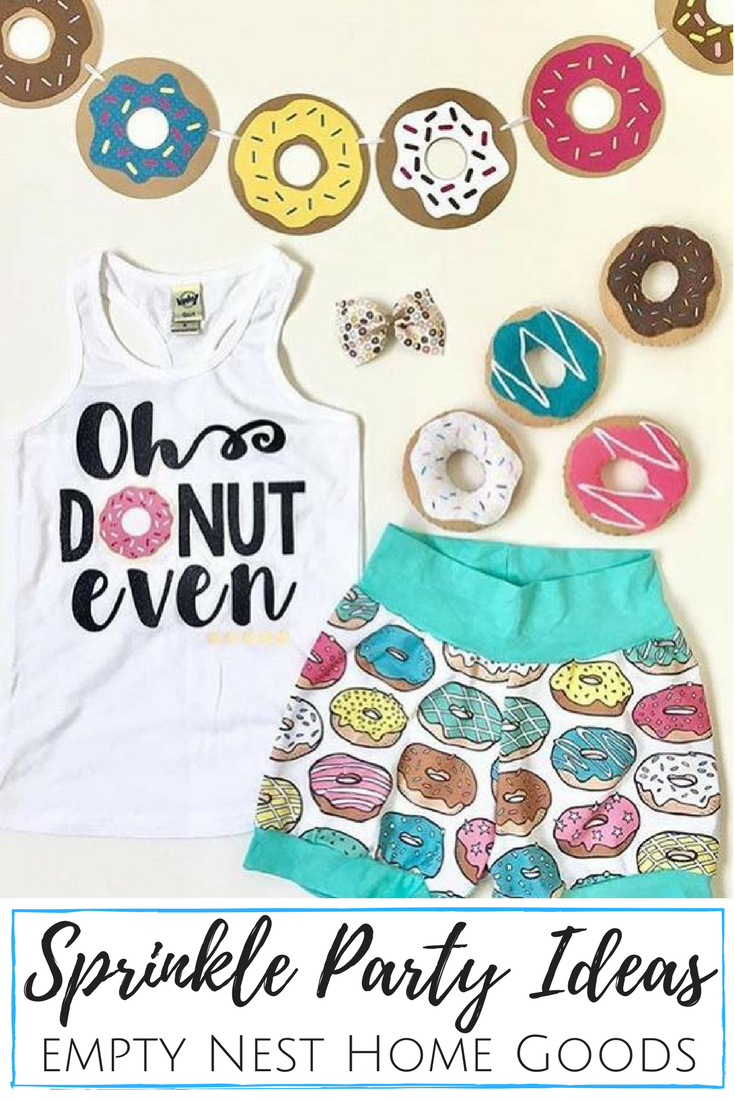 Donut Banner • Donut Grow Up Party • Sprinkle Party Decor • Donut ...