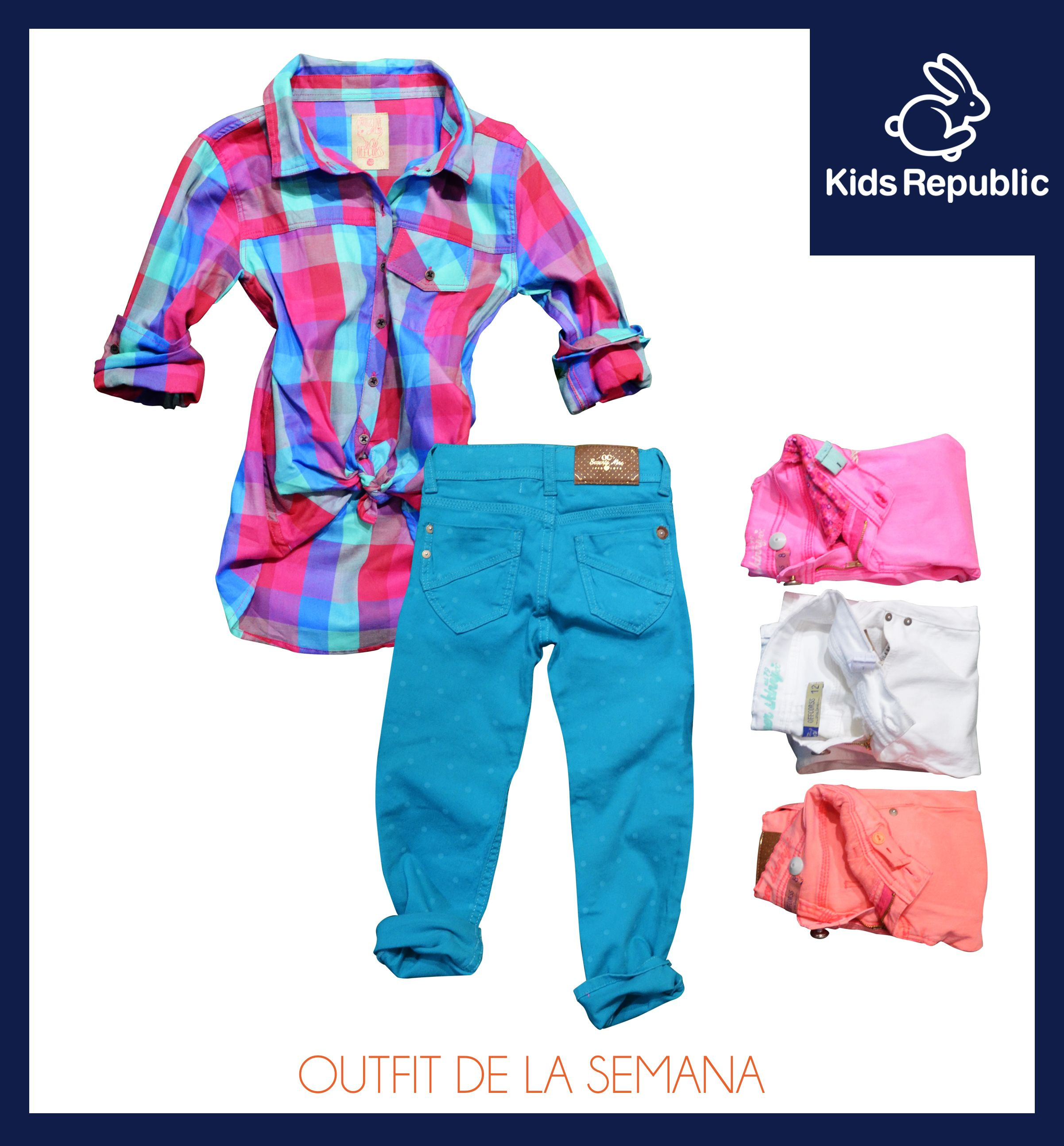 Está claro que una de las tendencias de esta temporada son las prendas de cuadros. Te ofrecemos esta camisa marcando un Street Style, fresca de colores radiantes y versátiles. Creando estupendos looks con estos pantalones Slim Fit en variados colores.