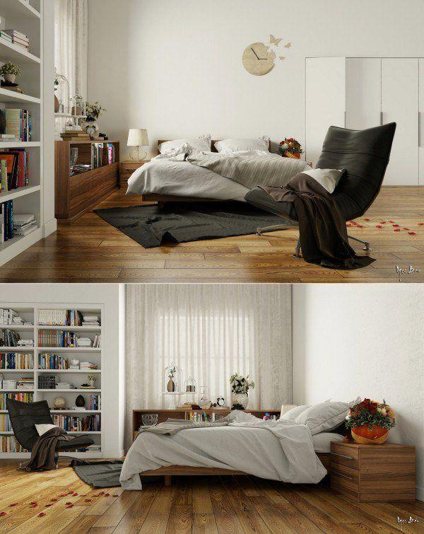 Chambre design - 20 visualisations de rêve | Chambre moderne, Belles ...