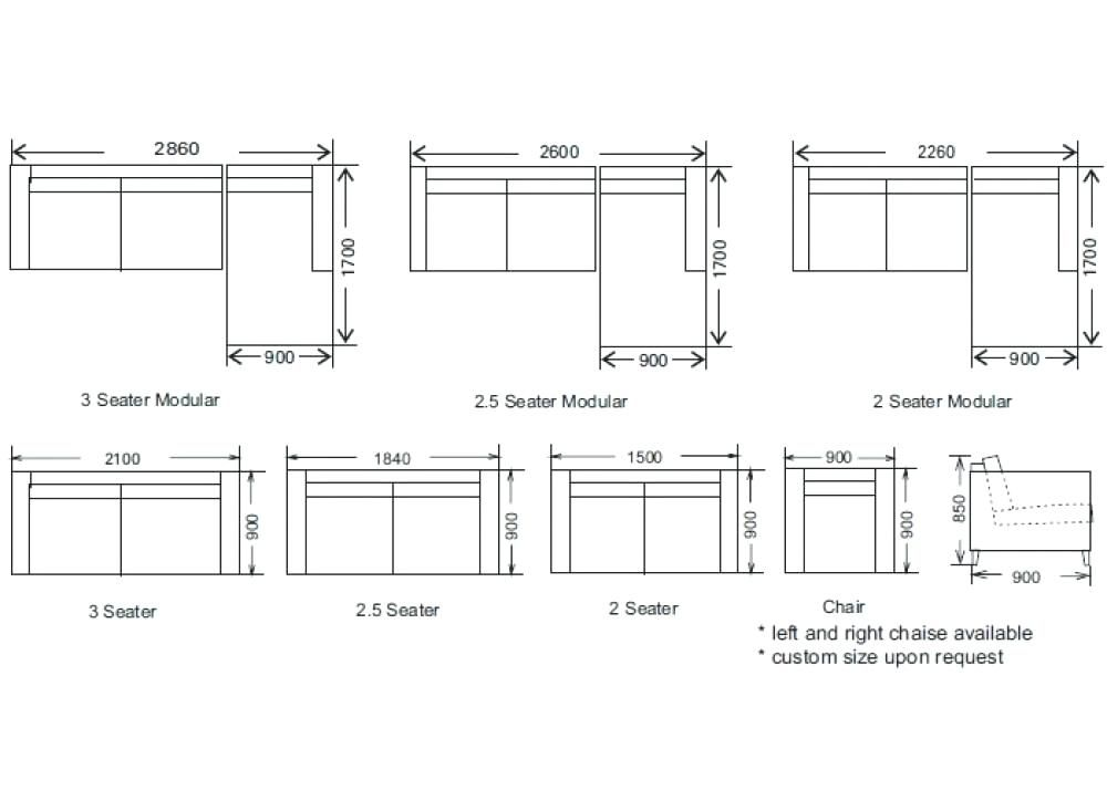Study Table Dimensions In Meters