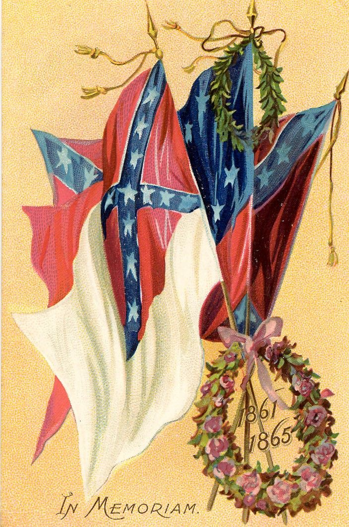 United Daughters of the Confederacy - Confederate Flags