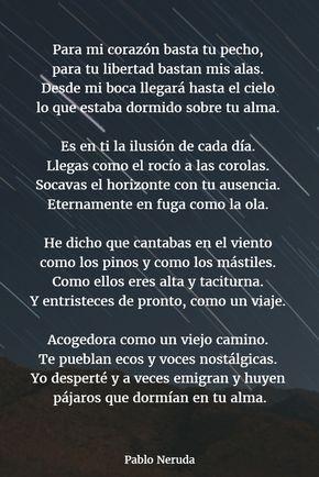 Poemas De Pablo Neruda 12 Poemas De La Vida Poemas Poemas De Neruda Amor