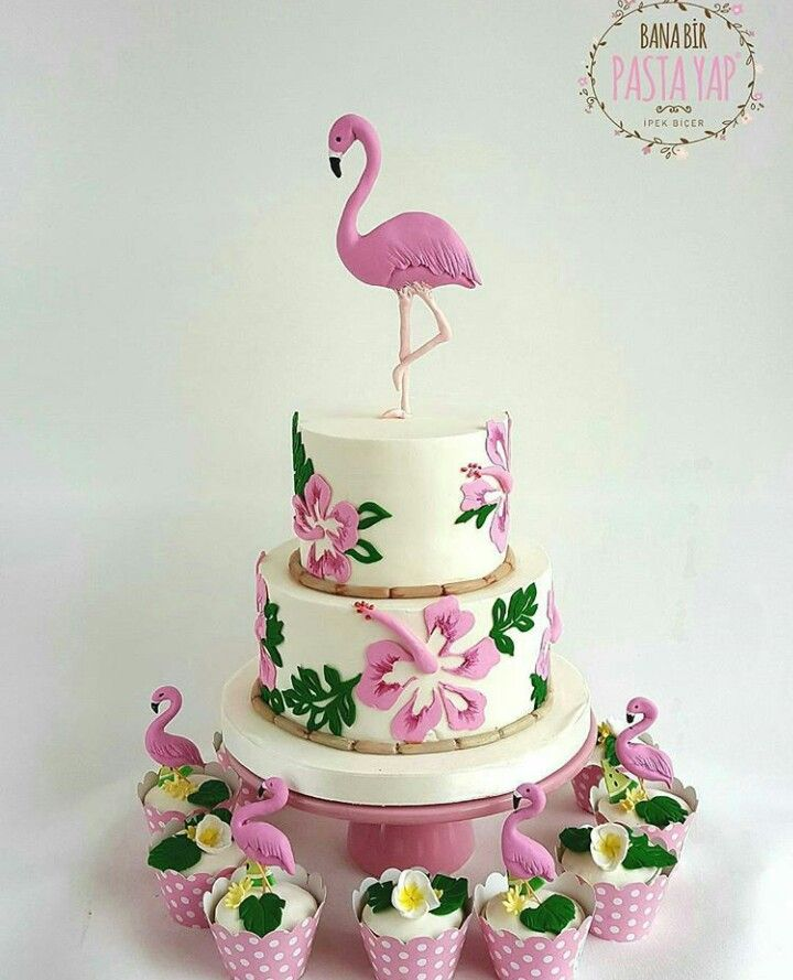 Bolo Flamingo Floral Arrangements In 2019 день рождения
