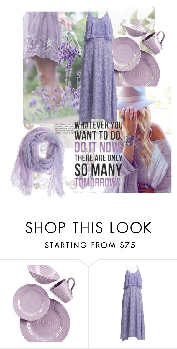 """""""Whatever you want to do..."""" by anamil ❤ liked on Polyvore featuring Portmeirion, Darling and Faliero Sarti"""
