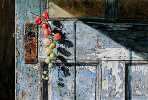 Richard Bélanger.     Watercolor