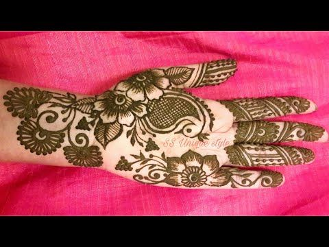 Beautiful arabic mehndi designs for hands ss unique style youtube also rh pinterest