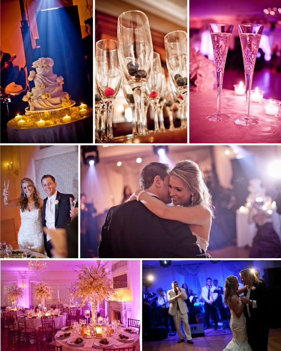 NY Real Wedding with purple & pink inspiration by Lela New York