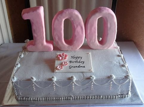 Image result for images 100th birthday cakes | 100 Year Celebration ...