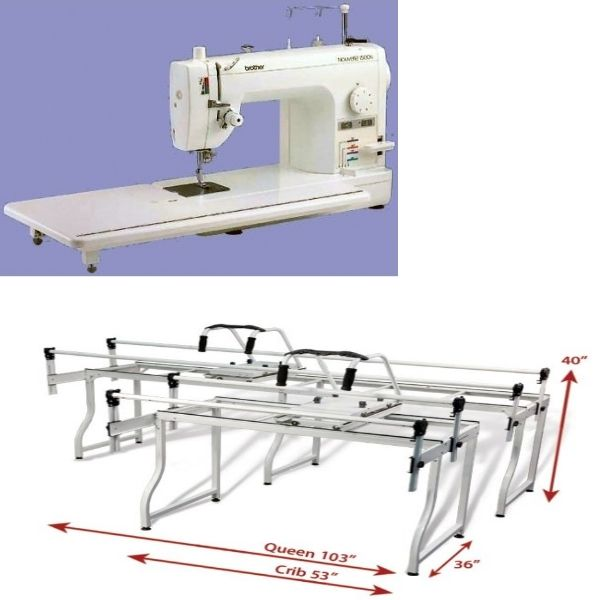 Brother PQ1500s and Grace SR2 Quilting Frame - <span…   Sewing ...