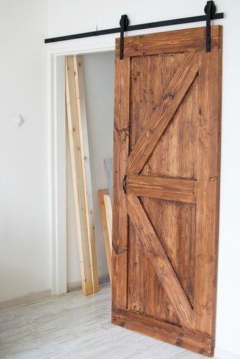 Hoe maak je een schuifdeur? (voor minder dan 50 euro)   ideeën ...