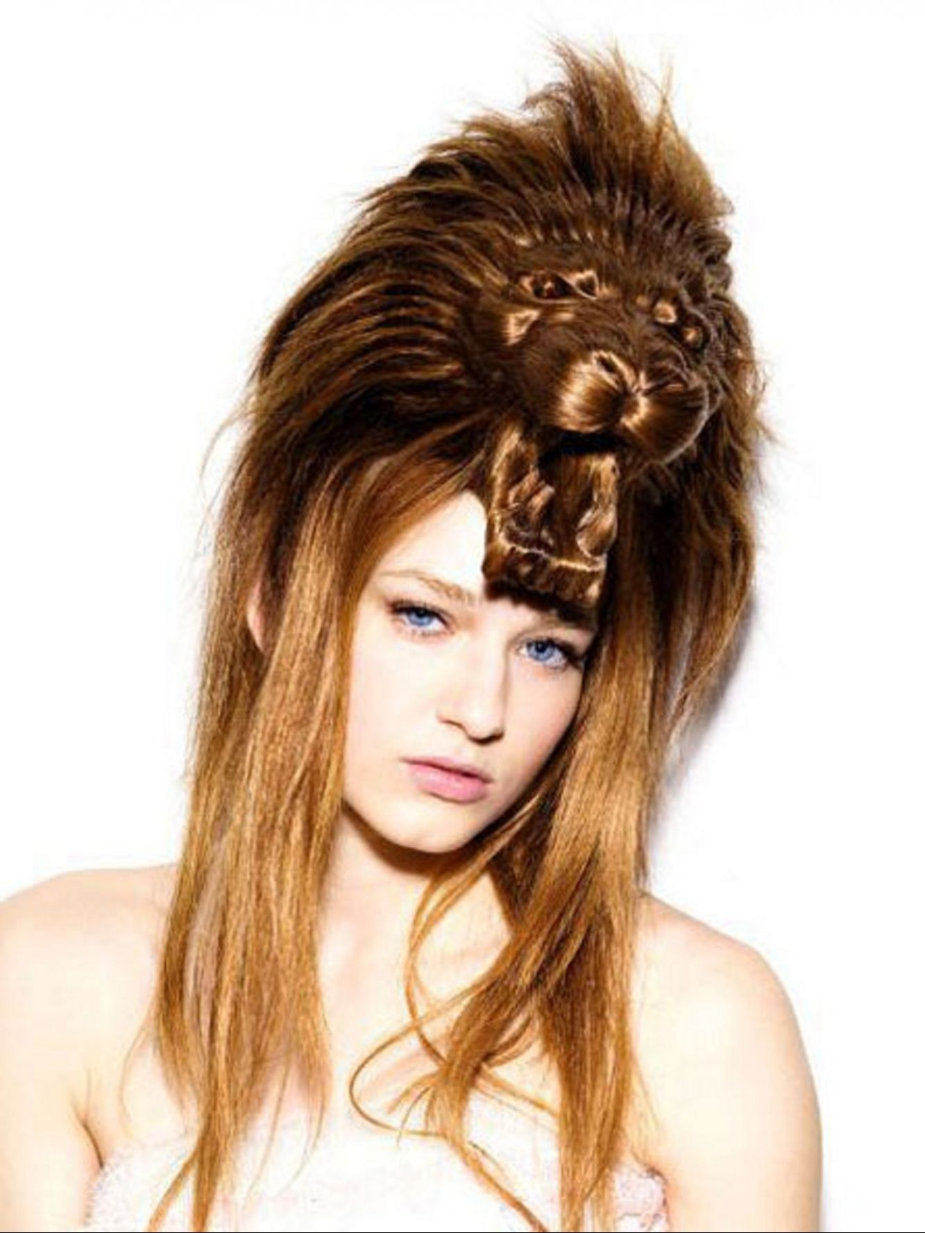 Check Out Lion Hairstyle Ideas Weird Hairstyle Hair Humor Hair Styles Cool Hairstyles