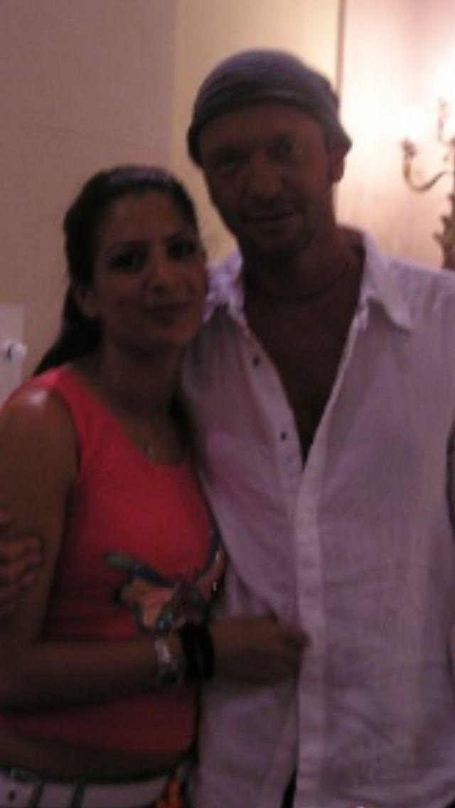 Festivalbar: me with Biagio Antonacci