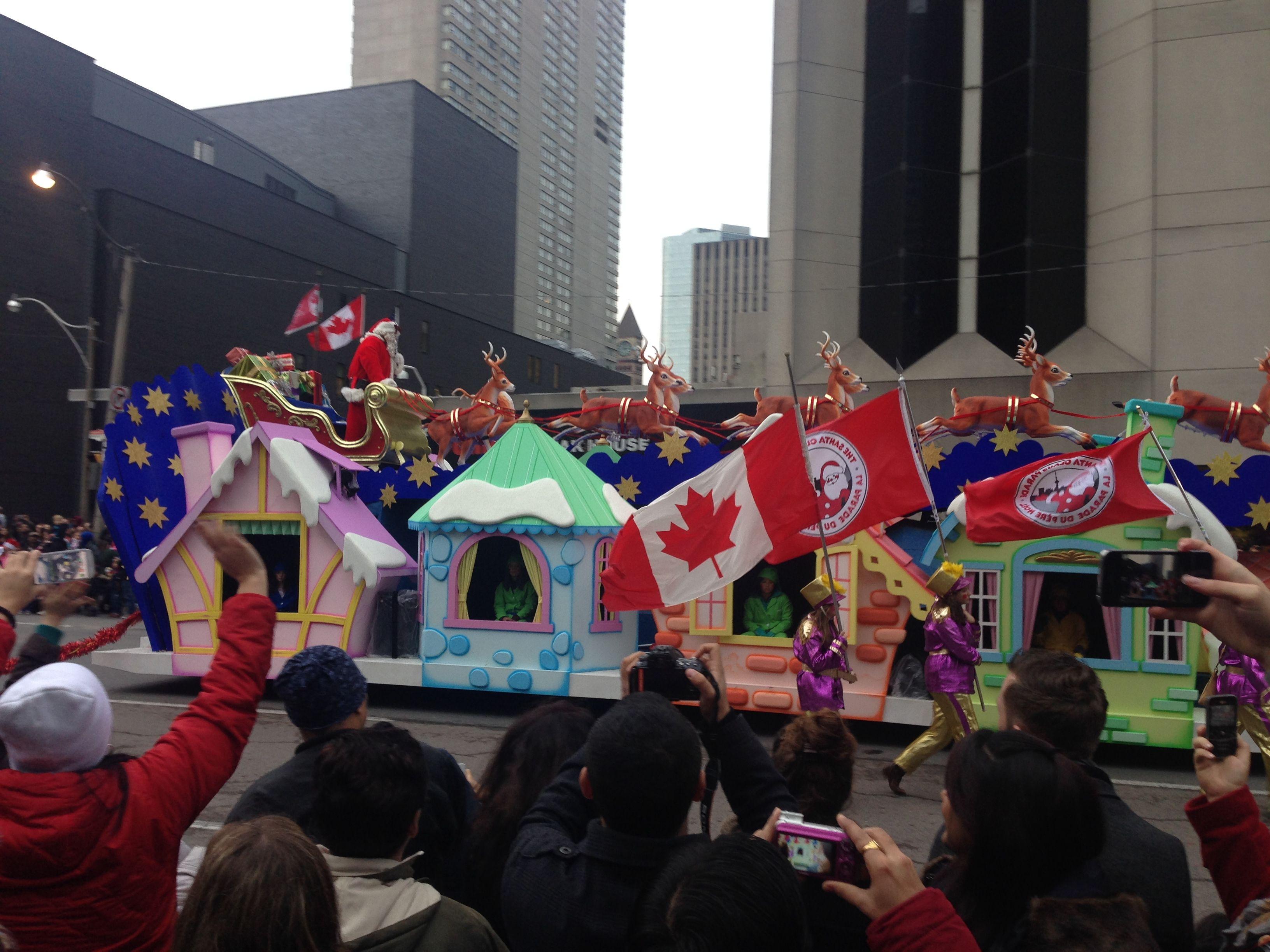 Santa Claus Parade, Toronto, Canada. Santa claus parade