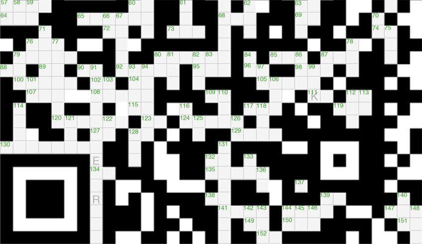 Qr Code Crossword Puzzle Wow Coding Qr Code Crossword Puzzle