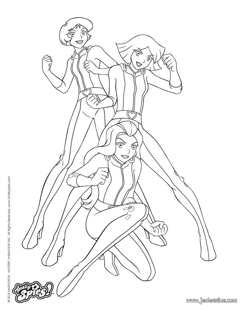 15 Adorable Coloriage Totally Spies A Imprimer Photograph Coloriage Totally Spies Coloriage Coloriage Emoji