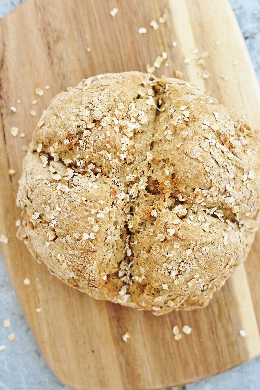 No Buttermilk Soda Bread Vegan Dairy Free Recipe Soda Bread Dairy Free Food