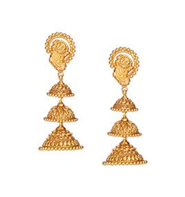 Designer Gold Divyam Temple Jewellery Online Tanishq