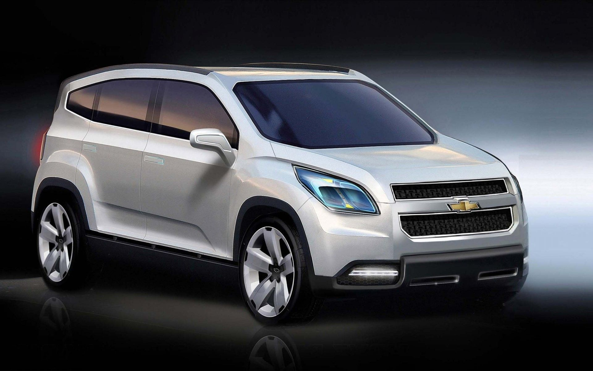 Car Chevrolet Orlando Wallpaper 1920x1200