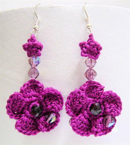 Crochet Earrings ♥
