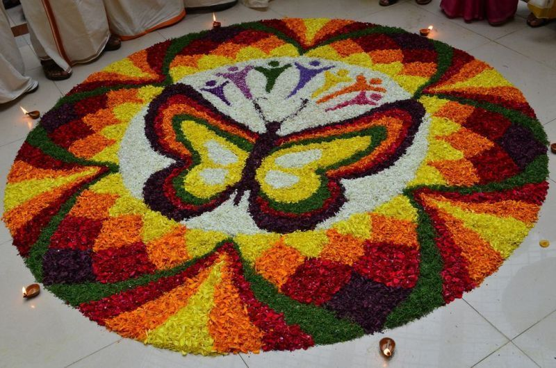 Prize Winning Rangoli Designs with Themes in 2020