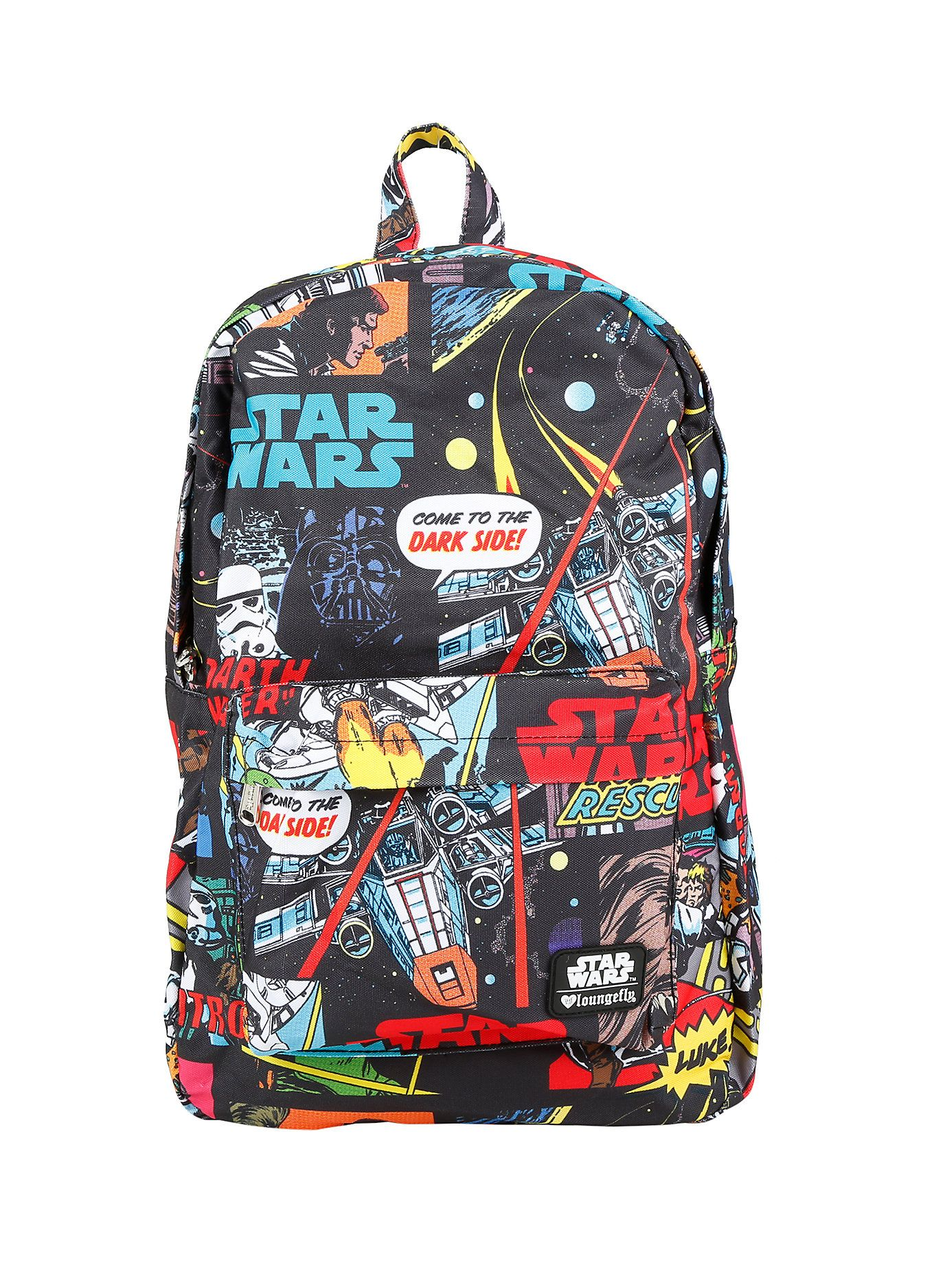 Loungefly Star Wars Classic Comic Backpack | Hot Topic