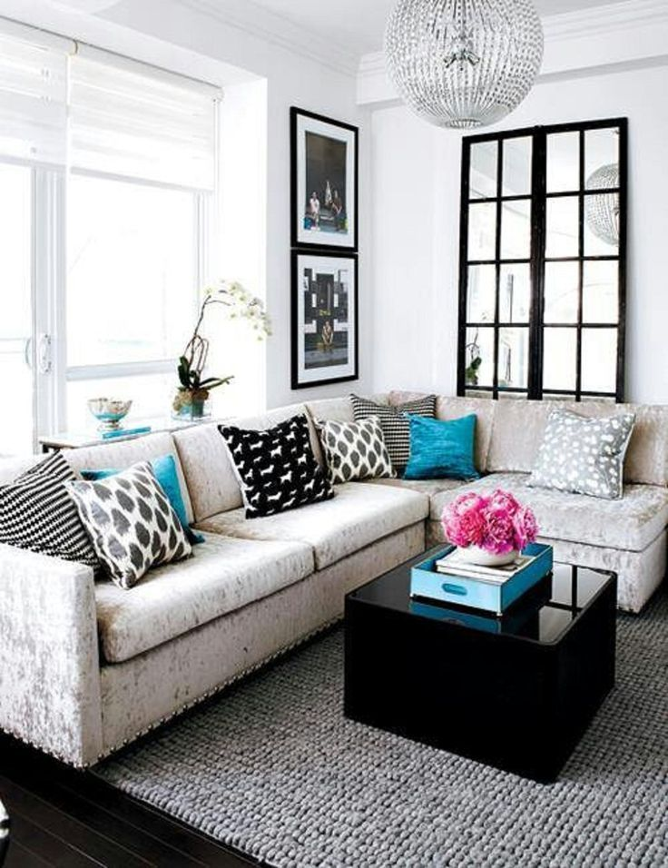 l shaped couch living room ideas. 30  Small Living Rooms with Big Style rooms Clutter and Room
