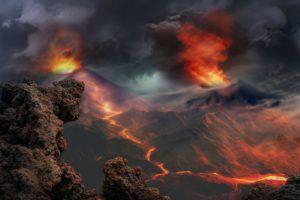 Arti Mimpi Gunung Berapi Meletus di 2020 | Gunung berapi ...