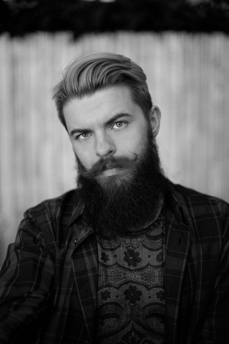 Serious Beard By Alex Esseker Beard No Mustache Beard Styles