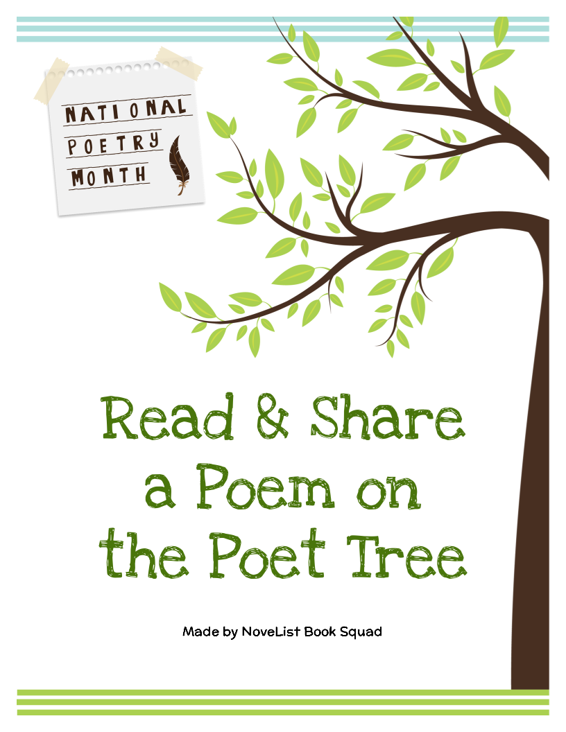Steal This Idea Read And Share A Poem On The Poet Tree Novelist Blog Ebscohost Library