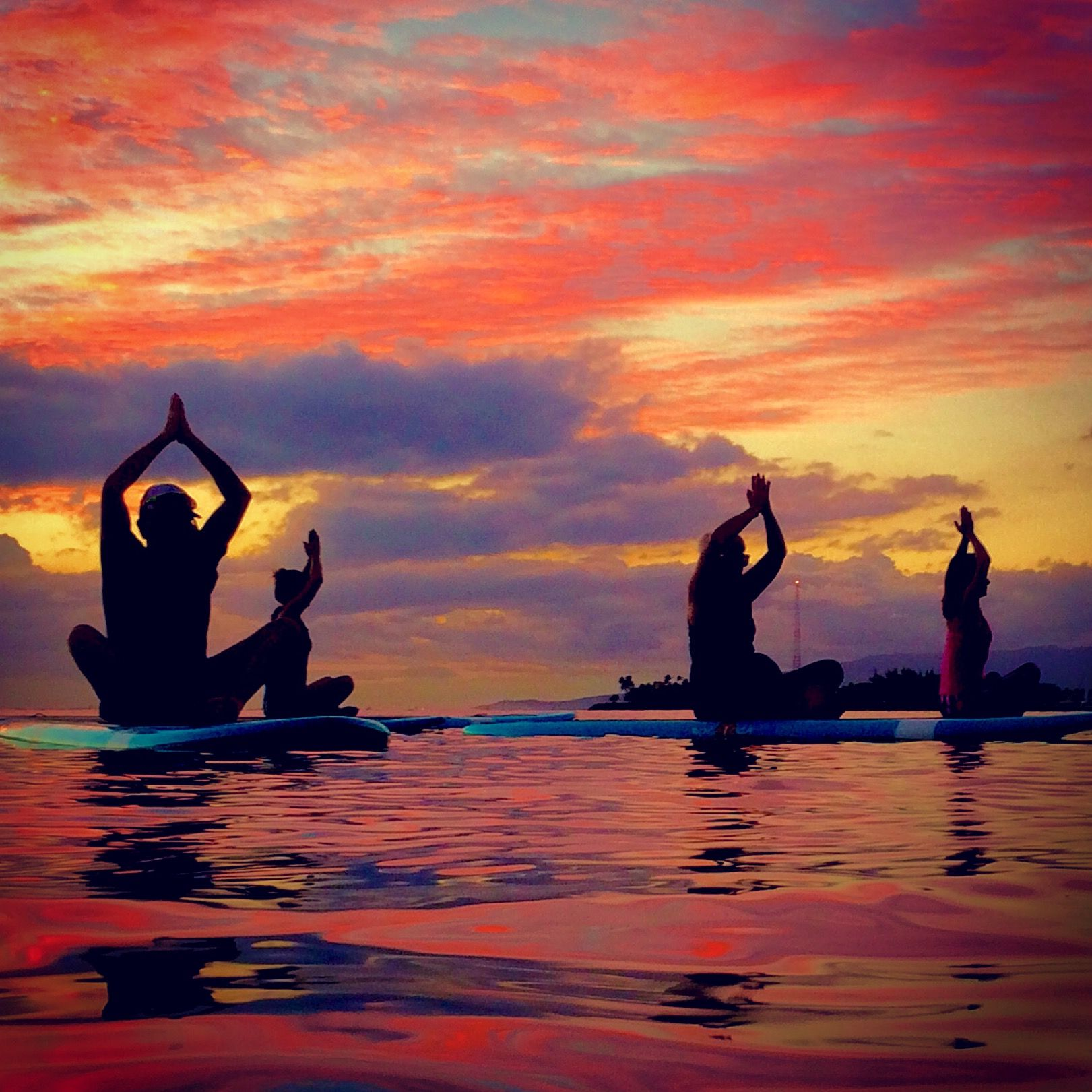 Alignment For The Body Mind And Soul Photo Samatamag Sunset Nature Body Mind Soul Yoga Healthy Healthylifestyle Fitne Photo Supyoga Standup Paddle