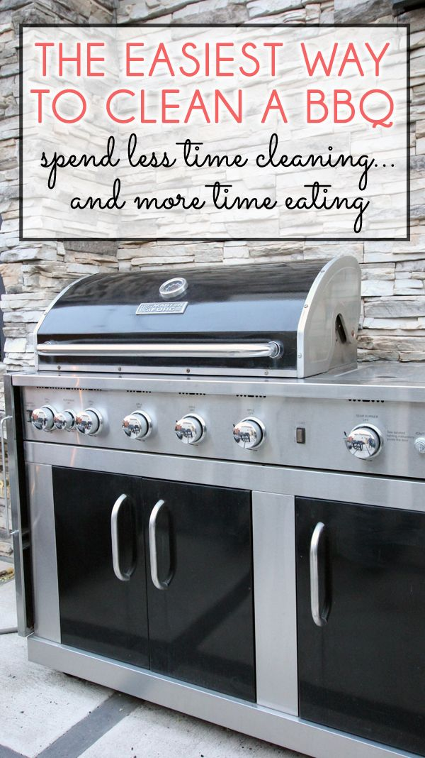 The Easiest Way to Deep Clean a BBQ Grill | Pinterest | BBQ grill ...