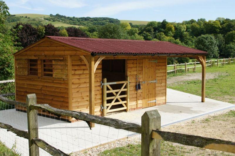 Shelter Store Covered Area Horse Shelter Mini Horse Barn