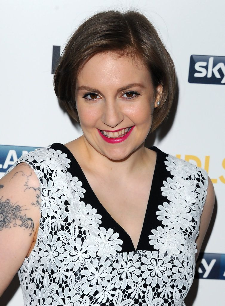 Lena Dunham Bob Hair Pinterest Lena Dunham Bobs And Short