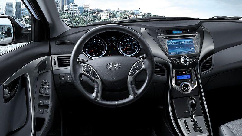 2013 ELANTRA IN BLACK INTERIOR   2013 Hyundai Elantra ...