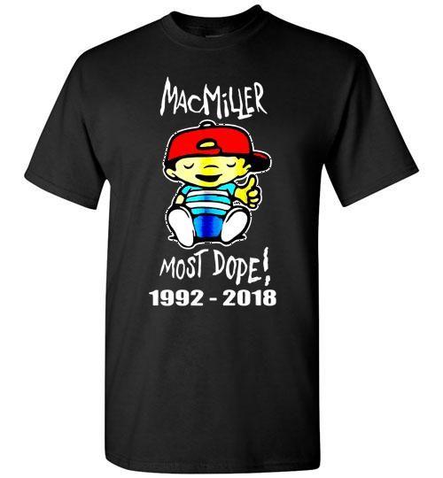 Mac Miller Most Dope 1992 2018 Unisex Classic Shirt #macmiller