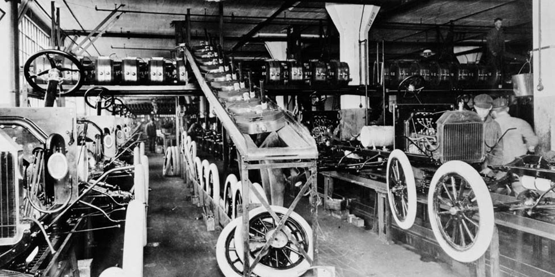 fordmodeltproduccion1 Ford motor company, Assembly