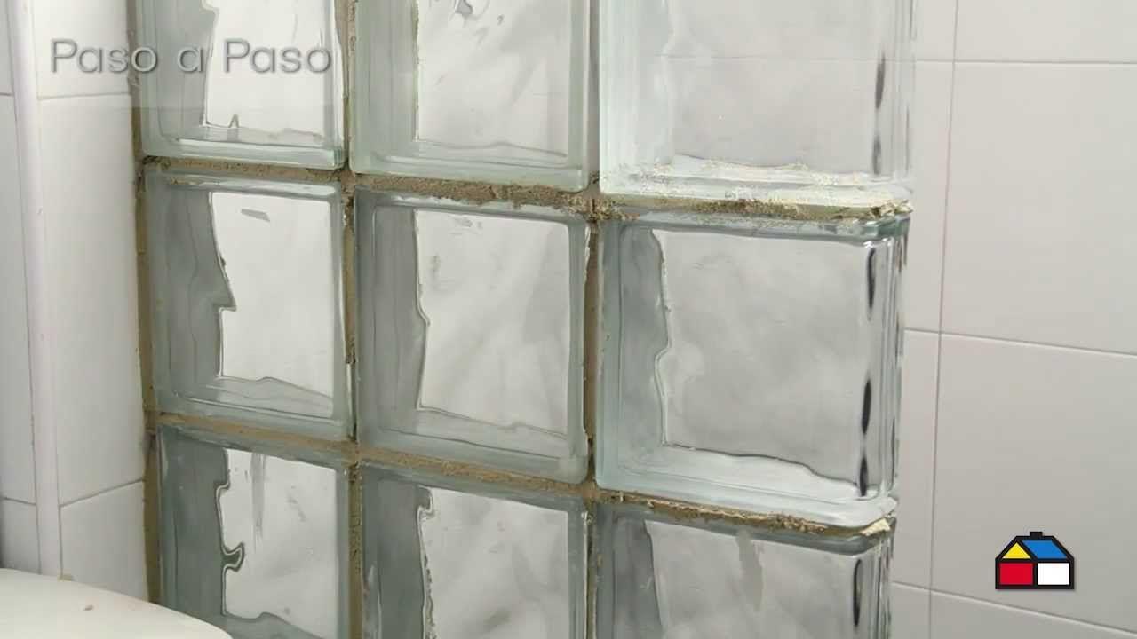 Paso a paso ba o vitral ba os pinterest ba o ba os - Bloques de vidrio para bano ...