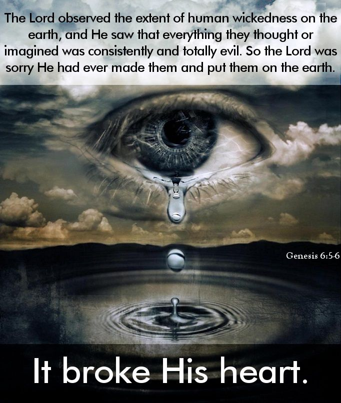 Oh I Heart This So Much Esp How Everything Centres: Genesis 6:5-6 (NLT) The Lord Observed The Extent Of Human