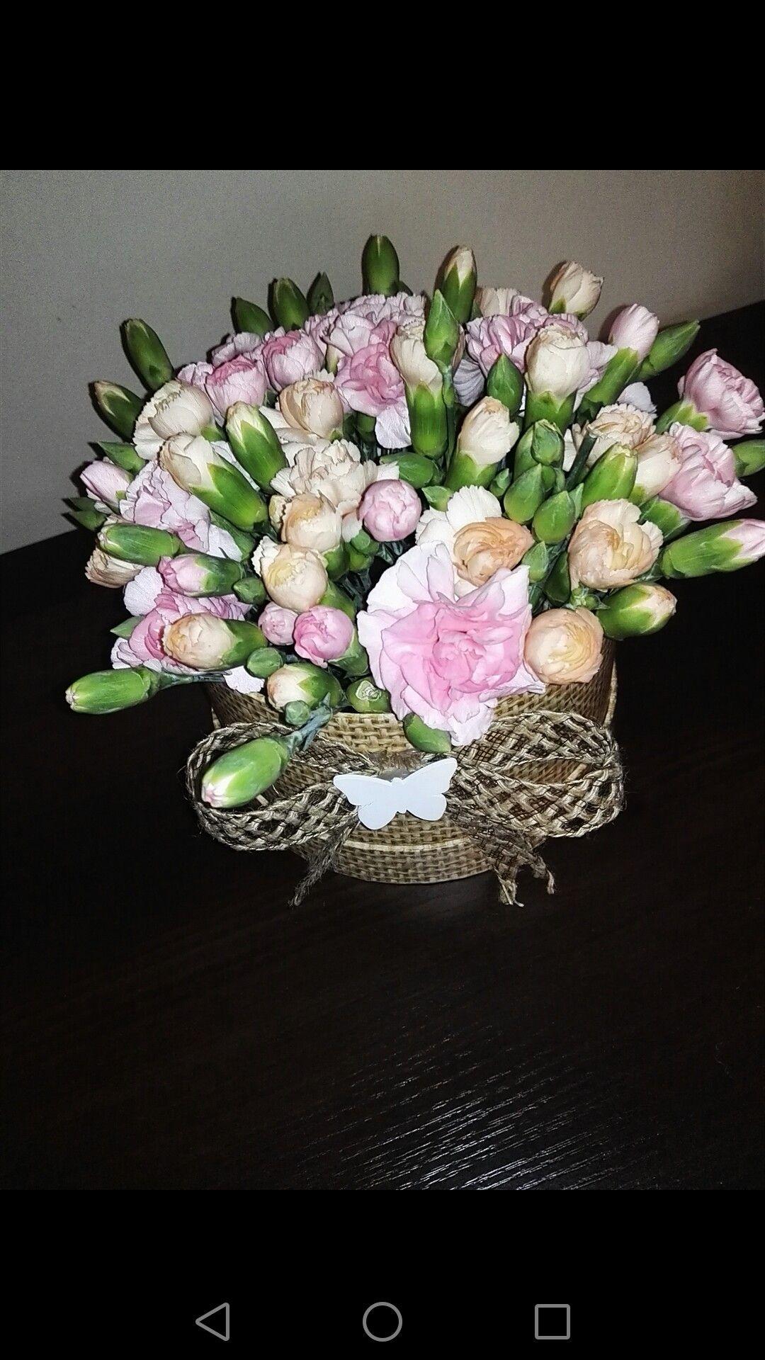 Home Made Flower Box Kwiaty W Pudelku Pomysl Na Bukiet Nowosc Homemade Flowerbox Kwiatywpudelku Pomysl Na Bukiet Nowosc Crown Jewelry Jewelry Crown