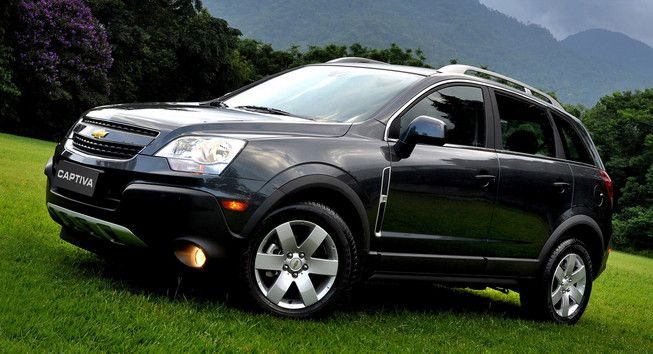 Chevy Captiva Sport Recalled Over Parking Brake Issue Chevrolet