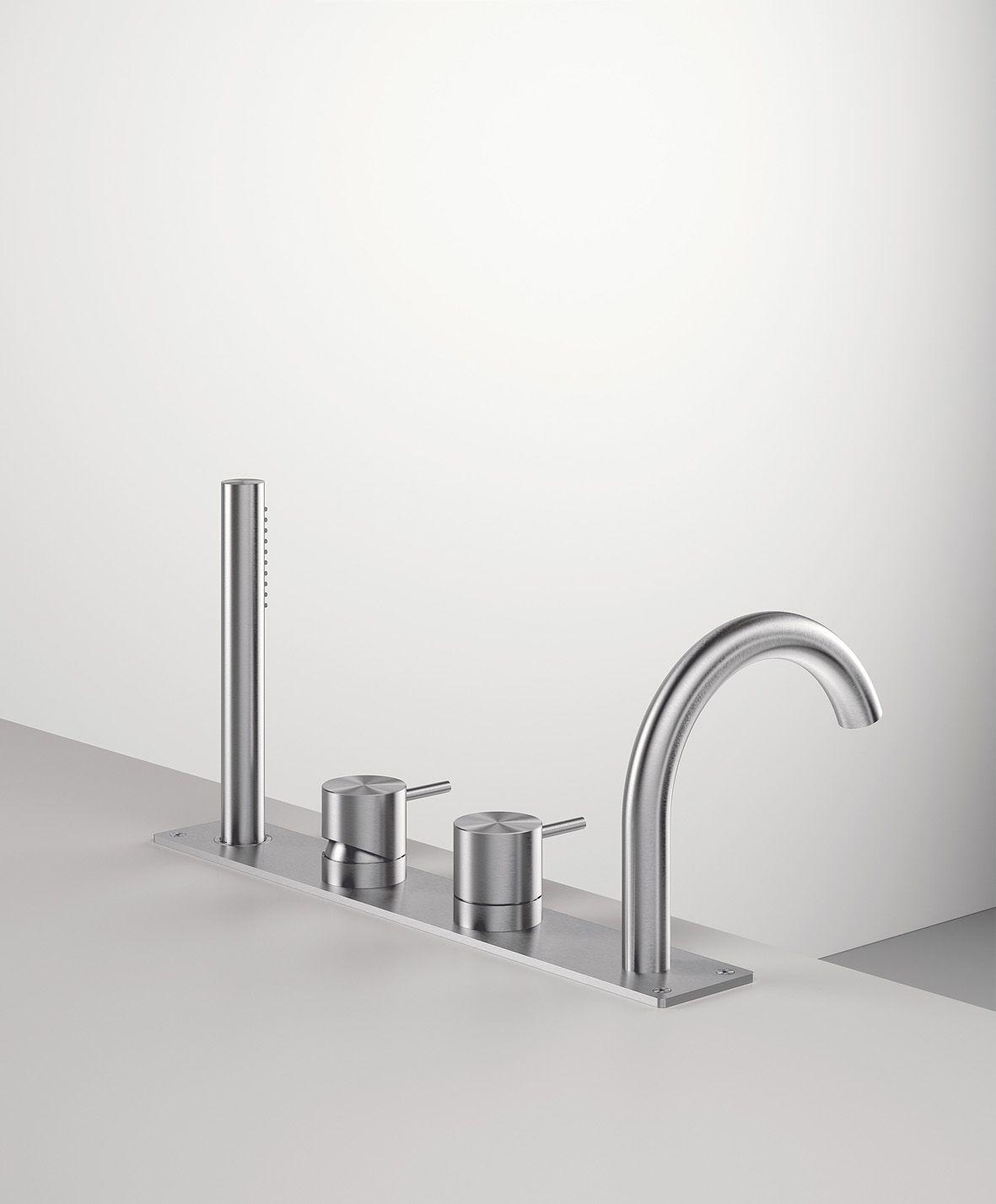 Zazzeri Z316 Collection_Gruppo vasca 4 fori design tap