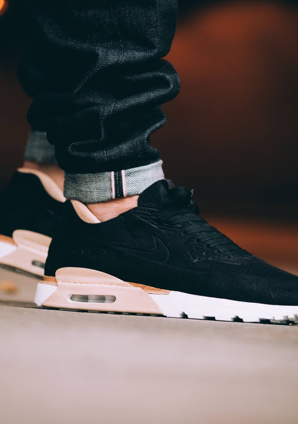 best service b235c ace39 NIKE Air Max 90 Royal Black Tan  sneakernews  Sneakers  StreetStyle  Kicks