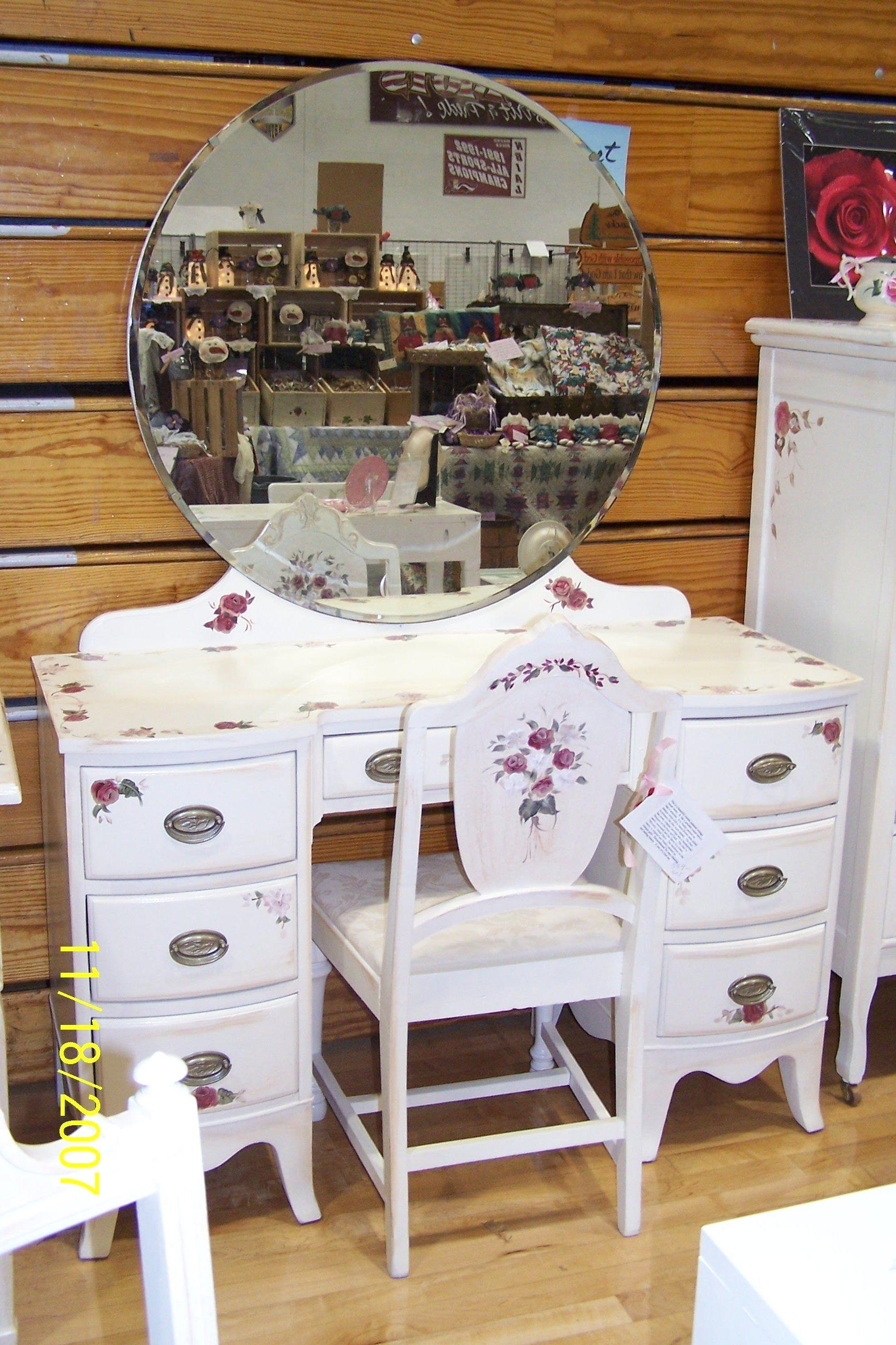 Vintage Art Deco Vanity Dressing Table Bedroom Drawers