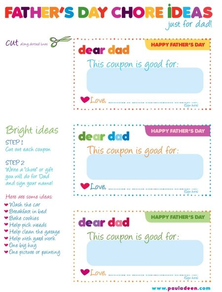 father s day coupons father s day pinterest father s day