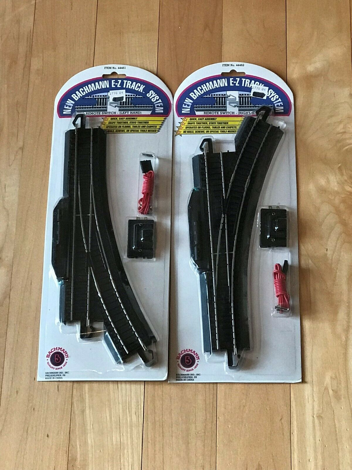 track 97168 ho scale bachmann e z train track left and right remote switch 44461 44462 new buy it now only 50 on ebay track scale bachmann train  [ 1200 x 1600 Pixel ]
