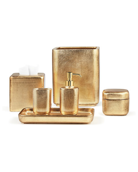 Labrazel Ava Canister Gold And Matching Items In 2021 Gold Kitchen Accessories Ceramic Accessory Bath Accessories