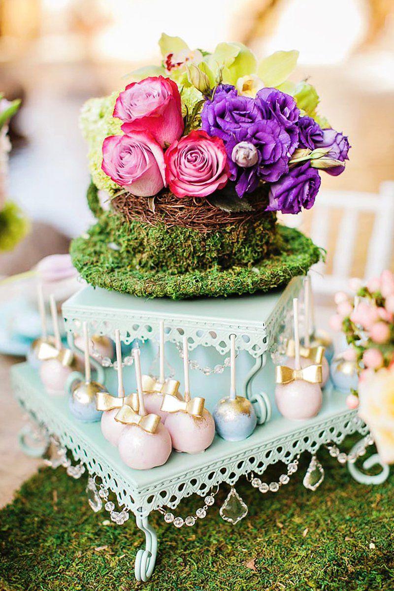Magical MotherDaughter Garden Tea Party Tea party, Tea