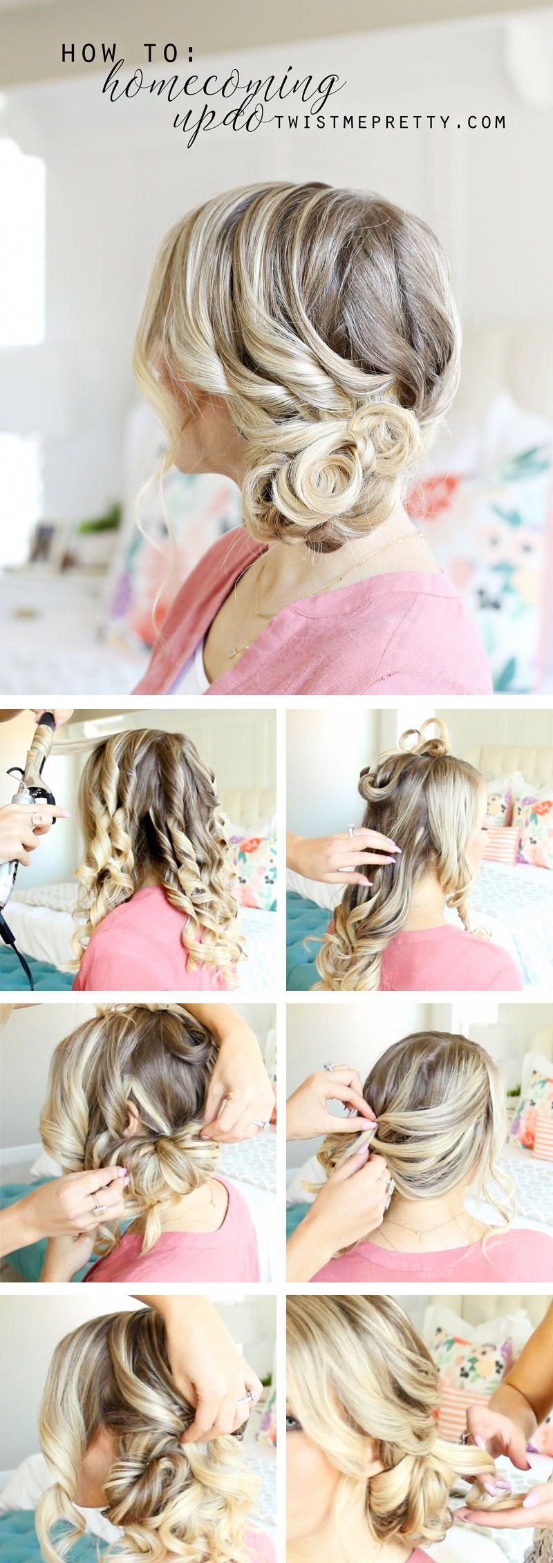 formal updo tutorial and tips